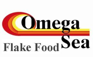 Omega Sea Fish Food Logo